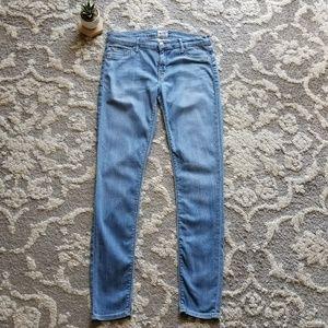 Hudson Krista Super Skinny Flor Wash Jean Size 28